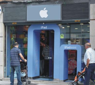 Nuevas tiendas de Apple
